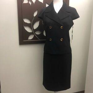 NEW Calvin Klein Skirt Suit